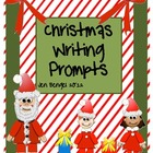 Christmas Writing Prompt Printables in Color and Black & White