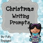 Christmas Writing Prompts-FREE