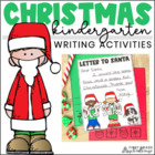 Christmas Writing for Kinders