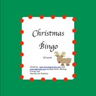 Christmas bingo- Spanish/English