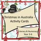 Christmas in Australia Activity Cards - literacy, numeracy