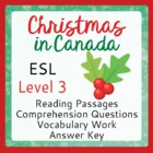 Christmas in Canada (ESL 3)