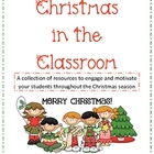 Christmas in the Classroom - reproducibles, activities, and more!