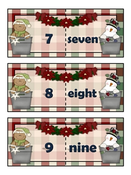 Christmas number names.