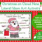 Christmas on Cloud Nine: Literal Idiom Art Activity