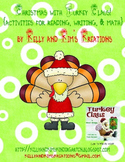 Christmas with Turkey Claus! {activities for reading, writ