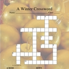 Christmas/Winter Crossword