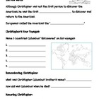 Christopher Columbus Internet Scavenger Hunt