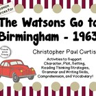 Christopher Paul Curtis' The Watsons Go to Birmingham- 1963