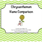 Chrysanthemum Name Comparison