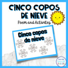 Cinco Copos de Nieve - A Winter Poem in Spanish