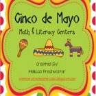 Cinco De Mayo Math &amp; Literacy Centers