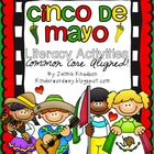 Cinco De Mayo and Salsa Literacy Pack! Common Core Aligned!