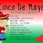 Cinco de Mayo Activity Packet FREEBIE