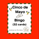 Cinco de Mayo Bingo- Spanish