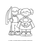 Cinco de Mayo Coloring Pages for Spanish Learners