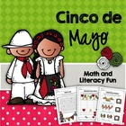 Cinco de Mayo - Math & Literacy Fun Activities, Games, Wor
