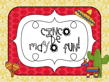 Cinco de Mayo Math and Literacy Station Work Fun!