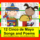 Cinco de Mayo Poems and Songs - Shared Reading and Fluency