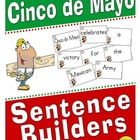 Cinco de Mayo Sentence Builders