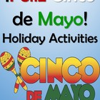 Cinco de Mayo Spanish Culture, Games &amp; Vocabulary Book