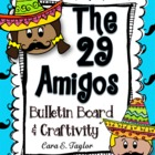 Cinco de Mayo~ The 29 Amigos Bulletin Board and Craftivity Kit
