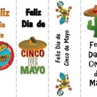 Cinco de Mayo bookmarks in Spanish