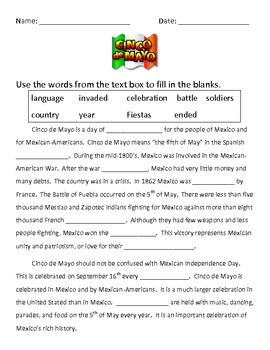 Cinco de Mayo packet
