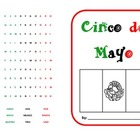 Cinco de Mayo simple booklet