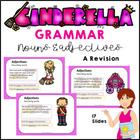 Cinderella Adjective Review PowerPoint 11 Slides of Fun
