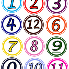 Circle Numbers for Centers and Math