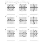 Circles, Ellipses, and Hyperbolas