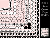 Circles Galore Page Borders Freebie