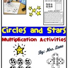 Circles and Stars Multiplication Practice