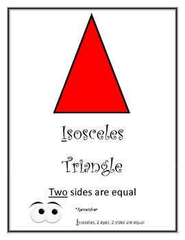 Circles and Triangles Posters