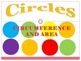 Circumference and Area of Circles PowerPoint 37 slides