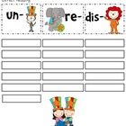 Circus Fun Prefix Word Sort (un, re, dis)