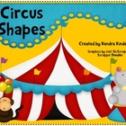 Circus Shapes - Games &amp; Activities for Basic Shapes
