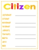 Citizen, Scholar, Terrific Kids Posters