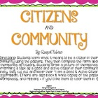 Citizens and Community S.S. Activity