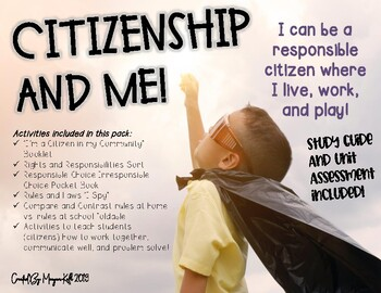 Citizenship: Rights, Responsibilities, Rules, Laws, and MORE!
