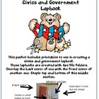 Civics And Government Lapbook: A Set of Printables