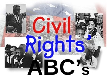 Civil Rights' ABCs Power Point
