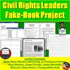 Civil Rights Advocates Fake-Book Project (U.S History)