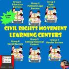 Civil Rights Learning Centers  - student-centered activity