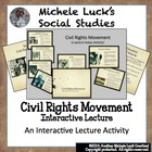 Civil Rights Movement Ppt w/ Core Content Lecture Notes