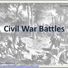 Civil War Battles Differentiated Instruction PowerPoint, N