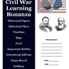 Civil War History and Research Group Project Activity