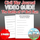 Civil War Journal: The First Battle of Bull Run Original V