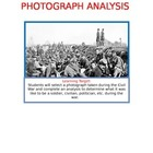 Civil War Photograph Analysis